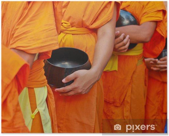 posters-bol-a-aumones-de-moine-bouddhiste